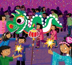 TOUCH this image: Interactieve vertelplaat Gelukkig nieuwjaar! by ingrid Heersink Chinese New Year, Chinese Art, China, Art For Kids, Crafts For Kids, Disney Scrapbook Pages, Scrapbook Layouts, School Themes, Children's Book Illustration