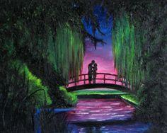 16x20 Original oil painting on canvas by artbycheyne on Etsy, $170.00