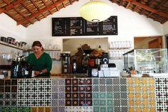 Baja Beans, organic market and cafe. In Pescadero, Baja, Mexico