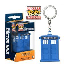 Porte-clés pocket POP Doctor Who Tardis