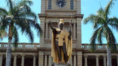 vintage pictures of the Hawaiian Monarchy | King Kamehameha Statue - Tribute to a King | Aloha Hawaii