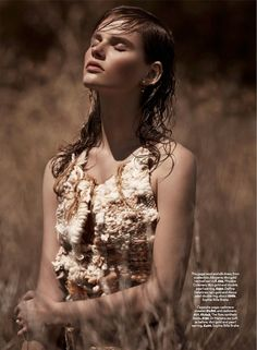 cover me: giedre dukauskaite by james macari for uk marie claire september 2014