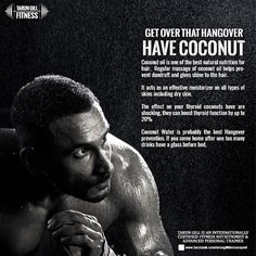Do you know which is the best hangover remedy after coffee.  Nope its not lemon water but coconut water! If you are not enjoying the alcohol high, try drinking some coconut water and your hangover will disappear in minutes. Try #Coconut water #hangover #alcohol