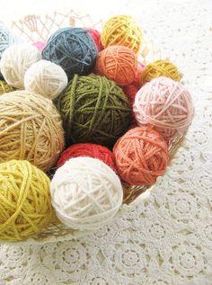 lovely yarn storage