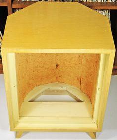 The Robb Collections: Modernization of a vintage corner-horn speaker