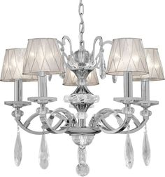 View the Forte Lighting 4007-05 5 Light 1 Tier Chandelier with Cone Shaped Shades at LightingDirect.com.