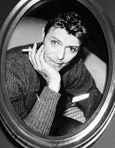 David Bowie, 1995 by Kate Garner.