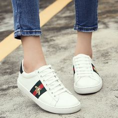 GUCCI Ace men or women white shoes sneakers #fashion #clothing #shoes #accessories #womensshoes #athleticshoes (ebay link)