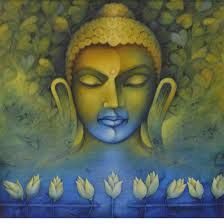 """""""The wise man lets go of all results, whether good or bad, and is focused on the action alone."""" ~ Bhagavad Gita Artist: Nityam Singha Roy ॐ lis Buddha Zen, Gautama Buddha, Buddha Buddhism, Buddha Life, Buddhist Wisdom, Buddhist Art, Buddha Painting, Painting Canvas, Zen Meditation"""