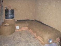 Poêle fusée (rocket stove)