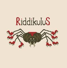 Riddikulus Harry Potter Cross stitch pattern by CrossStitchForYou