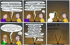"It's Throwback Thursday and ""Matt and Austin"" are back! Today things get interesting while Matt and Austin are watching TV. Click to find out what happens in 042- Remote Control! http://comicandmoviecollectibles.com/comic-strip-matt-and-austin-042-remote-control-1/ #comics #webcomic #TBT #ThrowBackThursday #FakeNews"