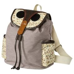 Owl backpack...soo cute =)