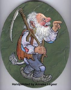 """"""" Trollfar """", handpainted by Anneke Legeer, the Netherlands, naar voorbeeld van Rolf Lidberg, 2007"""