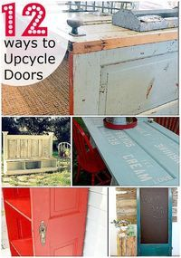 12 ways to upcycle doors