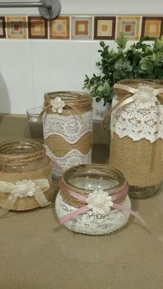 Jar, Vintage, Home Decor, Jute, Succulents, Room Decor, Jars, Vintage Comics, Home Interior Design