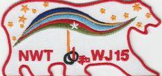 2015-world-scout-jamboree-Japan-CANADA-Contingent-Officc-BEAR-Patch-badge