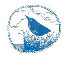 rob ryan - from 'Ghosts of Gone Birds' exhibition Bird Illustration, Illustrations, Rob Ryan, Bird Template, Most Famous Paintings, Bird Art, Paper Cutting, Printmaking, Screen Printing