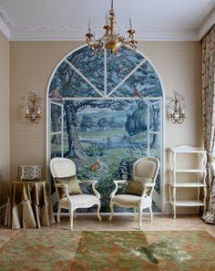 我們看到了。我們是生活@家。: 中性色調的華麗公寓,位在Moscow,Charles.Cameron是18世紀傑出的建築師,如今是代表著奢華的室內設計品牌