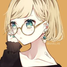 Lentes Anime Girls Lentes Anime Girls – New Ideas Pretty Anime Girl, Beautiful Anime Girl, Kawaii Anime Girl, Anime Art Girl, Fanarts Anime, Anime Chibi, Anime Characters, Anime Boys, Blonde Anime Girl