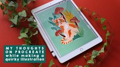 In this week's video i am making my second illustration on my in and sharing my initial thoughts on this device and app after using. Speed Paint, Ipad, Thoughts, Illustration, Youtube, How To Make, Painting, Art, Art Background