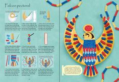 Egyptian things to make and do. X