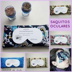 Almohadillas o sacos oculares relajantes terapéuticos. 100 natural, hechos a mano. ¡Pruébalos!!