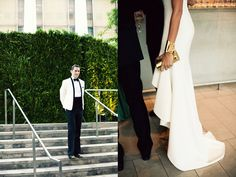 Love the white dress and gold accessories (http://fromme-toyou.tumblr.com/)