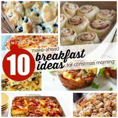 10 Make Ahead Breakfast Ideas for Christmas Morning