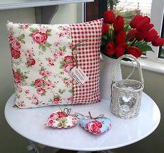 rosalie rosen ikea kissenbezug kissenh lle 40x40 handarbeit 100 umwolle r ckseite uni wei. Black Bedroom Furniture Sets. Home Design Ideas
