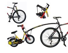 Amazon.com : Trail-Gator Children's Black Trailer Tow Bar : Bike Trailers : Sports & Outdoors