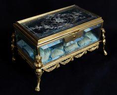 French antique jewelry box 34800yen VintageRetroAntiques