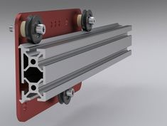 Barton Dring is raising funds for MakerSlide Open Source Linear Bearing System on Kickstarter! An open source linear bearing for CNC equipment that is low cost and extremely easy to integrate into your design. Routeur Cnc, Diy Cnc Router, Cnc Plasma, Machine Tools, Cnc Machine, Xy Plotter, Router Table Plans, Cnc Table, Cnc Parts