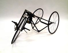carbon fiber tricycle powered by electric screwdriver for race