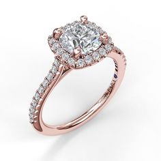 Fana Lavish and lovely, a cushion halo adds new dimension to this captivating style, complementing the delicate diamond-encrusted band. Engagement Ring Buying Guide, Engagement Rings Cushion, Dream Engagement Rings, Engagement Ring Styles, Affordable Rings, Cushion Halo, Diamond Wedding Rings, White Gold Diamonds, Metal Jewelry