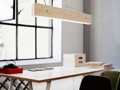Northern Plank Wood Suspension Light | Remodelista