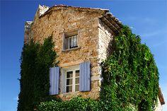 Une maison typiquement Provençale.