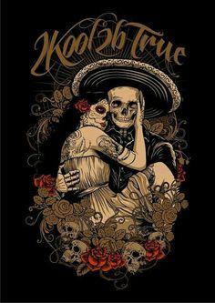 tattoo design, santa muerte, t-shirt Maquillage Sugar Skull, Los Muertos Tattoo, Catrina Tattoo, Totenkopf Tattoos, Skeleton Art, Skeleton Makeup, Skull Makeup, Chicano Tattoos, Sugar Skull Art