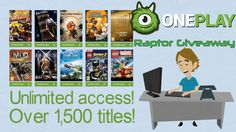 Raptor Giveaway - 12 Month OnePlay VIP (5 Codes) - http://techraptor.net/content/raptor-giveaway-oneplay-vip | Blog
