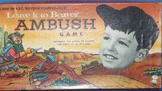 HASBRO: 1959 Leave It To Beaver Ambush Game #Vintage #Games