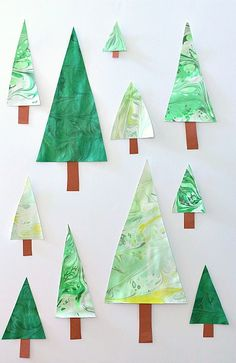 This marbled Christmas tree craft for kids was a huge hit with my six-year-old daughter! We started by marbling paper and then used the results to create our own marbled Christmas trees. Are you following our Christmas for Kids and Family Pinterest board? This was our first experience marbling paper, and we will for sure …
