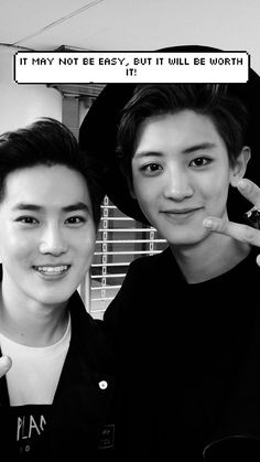 suho and Chanyeol !!! >o< What's with the caption?