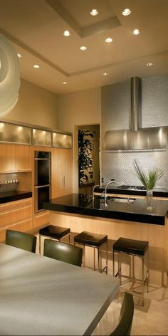 Contemporary Kitchen=