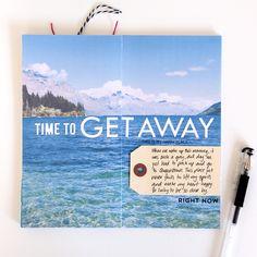 Traveler's Notebook Layout :: Get Away