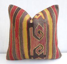 Tribal Kilim Pillow cover