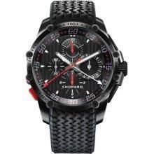 Chopard Superfast Split Second Black Dial Chronograph Black PVD Steel Rubber Mens Watch 168542-3001 #Watch http://www.myswisswatchbrands.com/watches/chopard/chopard-superfast-split-second-black-dial-chronograph-black-pvd-steel-rubber-mens-watch-168542-3001/