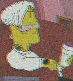 Bart grew up fast damn Simpson Wallpaper Iphone, Sad Wallpaper, Tumblr Wallpaper, Iphone Wallpaper, Bart Simpson Tumblr, Lisa Simpson, The Simpsons, Lila Baby, Dope Cartoons
