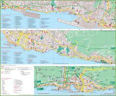 Girona tourist map Maps Pinterest Tourist map Spain and City