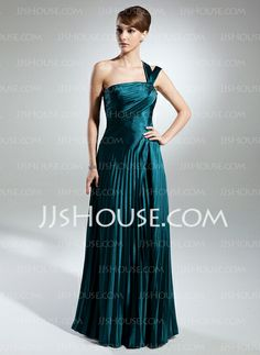 Mother of the Bride Dresses - $138.99 - A-Line/Princess One-Shoulder Floor-Length Charmeuse Mother of the Bride Dress With Ruffle (008015379) http://jjshouse.com/A-Line-Princess-One-Shoulder-Floor-Length-Charmeuse-Mother-Of-The-Bride-Dress-With-Ruffle-008015379-g15379