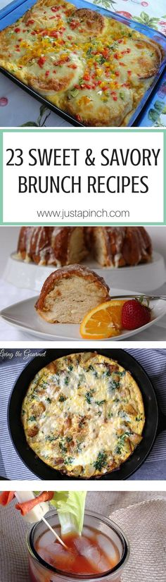 1000 images about breakfast recipes on pinterest for Recipes for pancakes sweet and savory